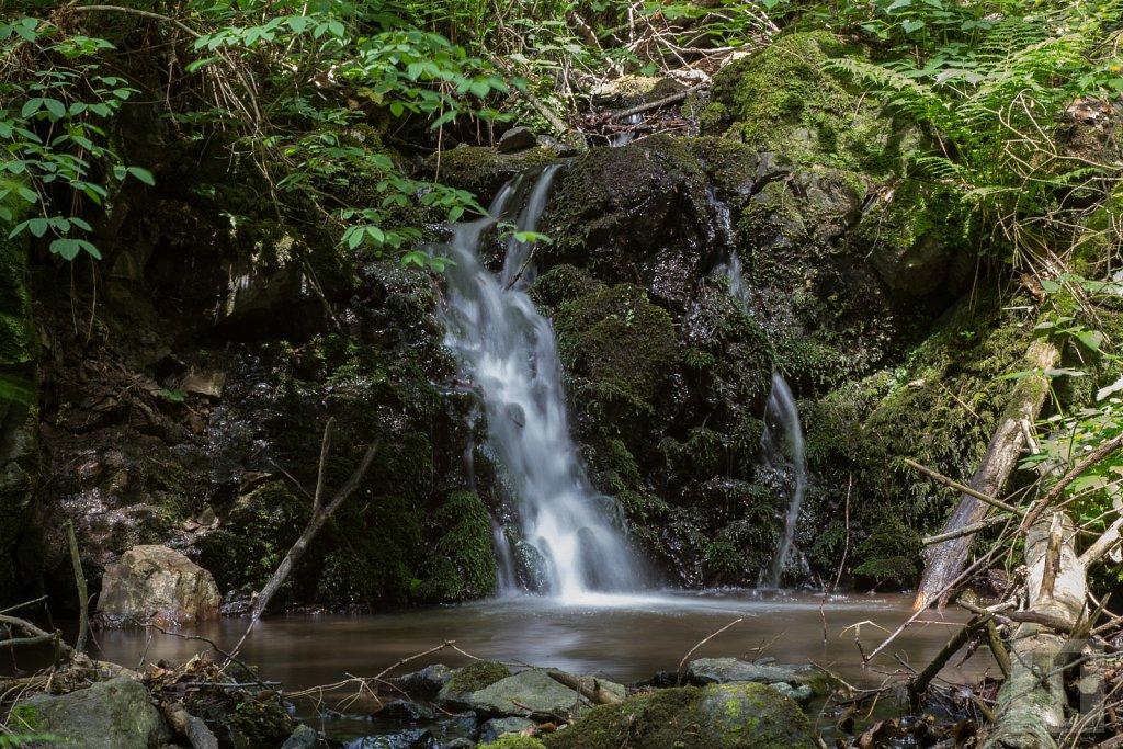 Šebrovka - dolní vodopád