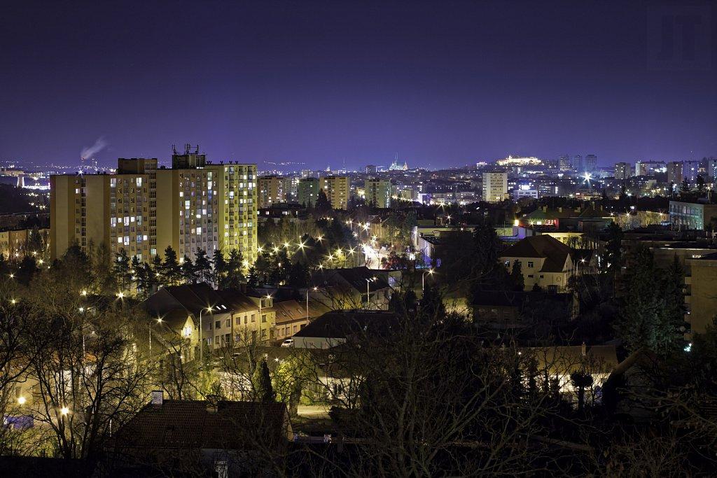 Výhled přes Řečkovice
