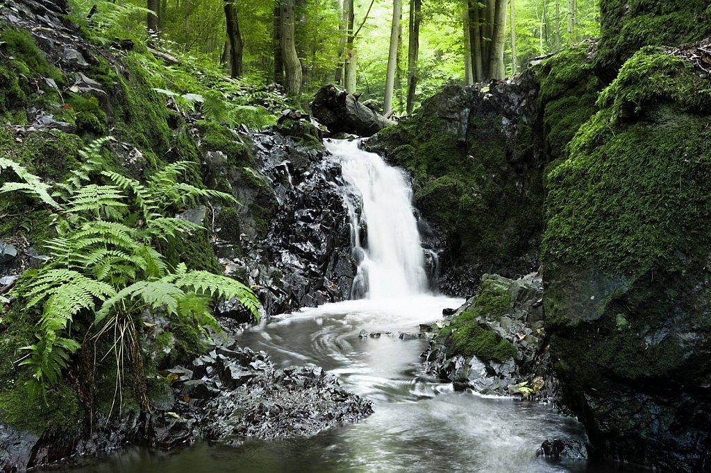 """Dolní """"vodopád"""" na Šebrovce"""
